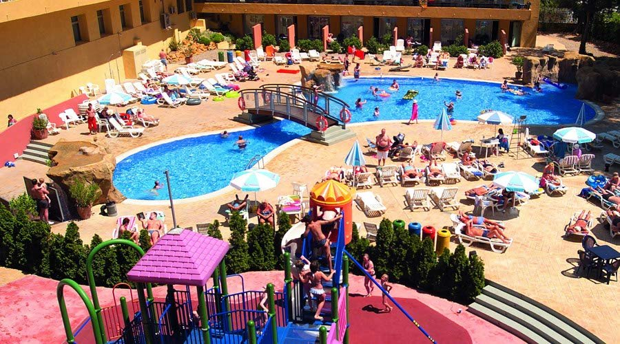 Fun pool hotel salou