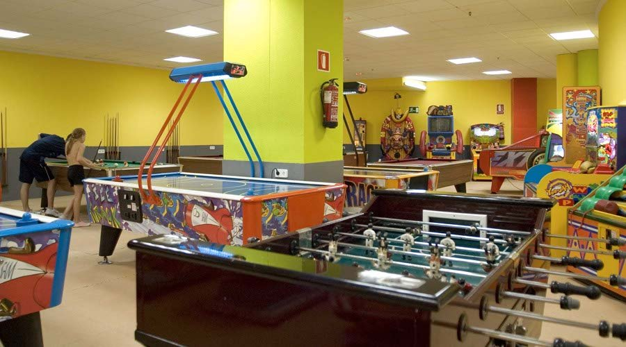 Games room flaming hotel benidorm