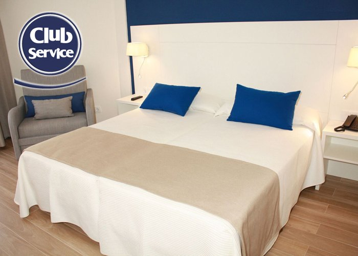 Medplaya hotel rio park in benidorm alicante costa blanca - Decoratie volwassenen kamers ...